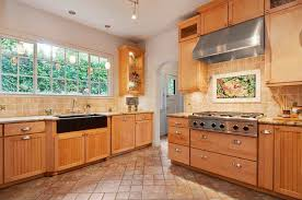 Kitchen Cabinets Oakland Ca Contemporary Kitchen With Farmhouse Sink U0026 Flat Panel Cabinets In