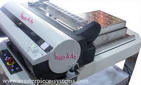 edible printing system chocolate printer mpc 415 for edible printing direct on genuine