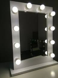 White Vanity Mirror With Lights Importance Of Vanity Mirrors With Lights Light Decorating Ideas