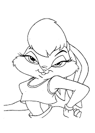 drawing lola bunny coloring pages download u0026 print