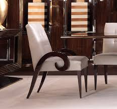 Dining Armchairs Upholstered Sculptural Walnut Chairs Taylor Llorente Furniture