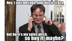 Cold Calling Meme - recruitment guide online training