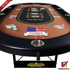 poker tables for sale near me brown texas holdem poker table 10 player folding blackjack felt with