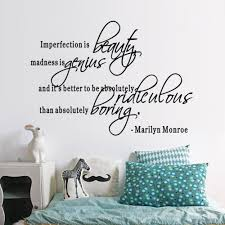 aliexpress com buy marilyn monroe quote popular beauty home