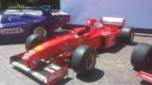 formula 1 car for sale saw schumachers at monteray auto week it s for sale for