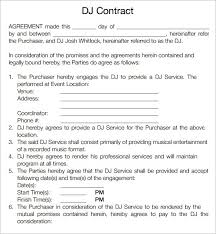 music contract template pdf best resumes curiculum vitae and