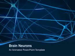 templates for powerpoint brain brain neurons a powerpoint template from presentermedia com