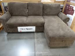 sofa with chaise and sleeper furniture costco sleeper sofa sectional innovative on furniture and