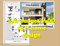 1500 square foot house plans house plans on a budget new 3 bed room 1500 square house plan