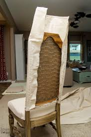 Diy Dining Room Chair Covers by Home Design Ideas About Recover Dining Chairs On Pinterestow To
