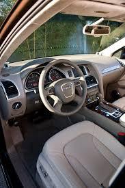 Audi Q7 Inside 2010 Audi Q7 Tdi Beige Interior Eurocar News