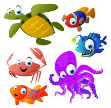 cute cartoon animals vector free vector 4vector