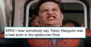 Spiderman Face Meme - sam raimi s spider man trilogy memes raimimemes dorkly post