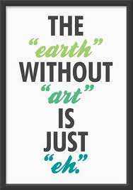 without print by the ink society etsy our earth