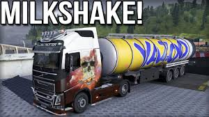 volvo trucks youtube milkshake euro truck simulator 2 volvo fh youtube