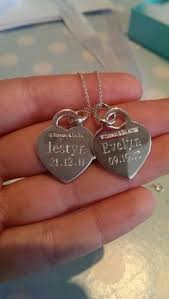 necklace for with children s names sted necklace sted mixed metals name