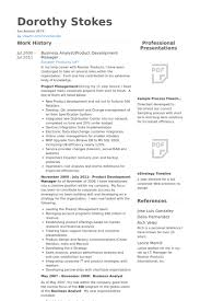 Sample Resume Of Business Analyst by Product Development Manager Resume Samples Visualcv Resume