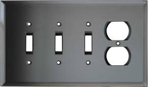 light switch covers 3 toggle 1 rocker grey switch cover grey outlet covers grey gfci rocker