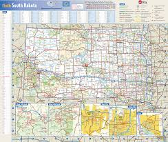 map south dakota south dakota state wall map by globe turner