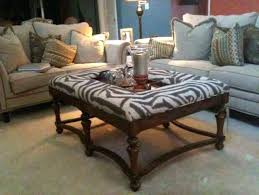 Print Ottoman Animal Print Ottoman Coffee Table New Leopard Intended For 6