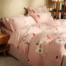pink flannel sheets princess bowknot duvet cover bed sheets sets