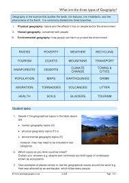 geography skills teachit geography