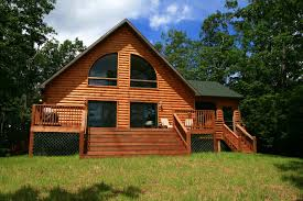 simple classic design of the log cabin modular home floor plans