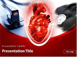 powerpoint templates free download heart download cardiology theme heart defibrillator and tonometer