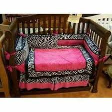Pink Zebra Crib Bedding Nursery Bedding Product Baby Boom Jungle Friends 4 Crib