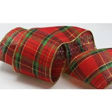 plaid ribbon gift ribbons satin grosgrain and christmas designs box and wrap