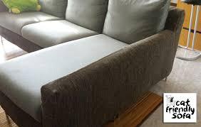 Fabric Or Leather Sofa Fabric Or Leather Sofa With Cats Www Energywarden Net
