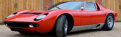lamborghini classic lamborghini miura u2013 auction purchase u2013 classic motor finance
