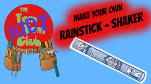 make your own pre kids musical instrument diy rain stick