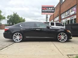 2008 lexus ls 460 tires lexus ls460 with blaque diamond wheels no limit inc
