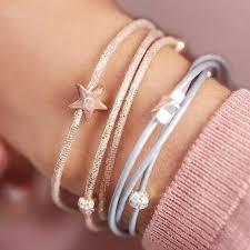 leather star bracelet images Arlena multi wrap leather star bracelet by bloom boutique jpg