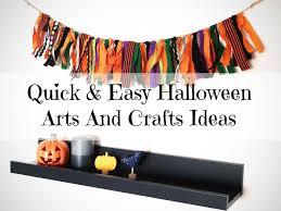 quick u0026 easy halloween arts and crafts ideas lamb u0026 bear