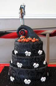 wedding in los angeles nightmare before wedding cake