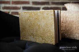 Leather Bound Wedding Album Wedding Albums Cleveland Wedding Photographers Genevieve Nisly