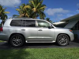 2015 lexus lx 570 white 305 50r20 tires on lx570 oem rims ih8mud forum