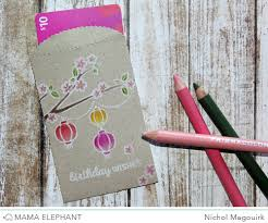 lucky envelopes elephant designer series elephant birthday gift cards
