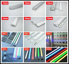 How To Mount Led Strip Lights by Aluminum Led Strip Lights Profile Channel Track Housing Mounting