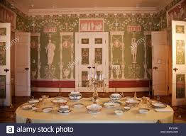 green dining room russia st petersburg catherine palace tsarskoe selo green