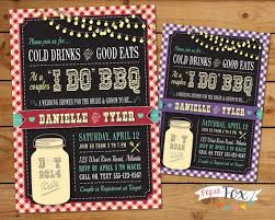 coed bridal shower i do bbq wedding shower invitation couples bridal shower