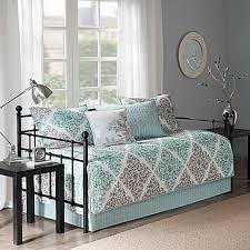 bed bath beyond floor l attractive madison park essentials claire daybed set in aqua bed