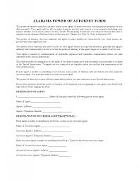 Forms For Durable Power Of Attorney by Free Alabama Durable Financial Power Of Attorney Form Pdf