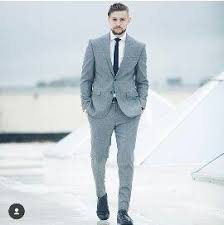 what color shirt with light grey suit which color shirt tie and shoes would go well with a light gray