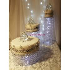 wedding cake display wedding cake stand cascade