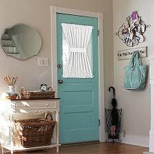 nicetown window treatment room darkening french door curtains one