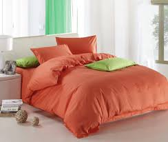 new orange theme high quality home bedding set 2 pillow case 1