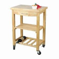 oak kitchen cart with drawer shelf and wine rack global sources